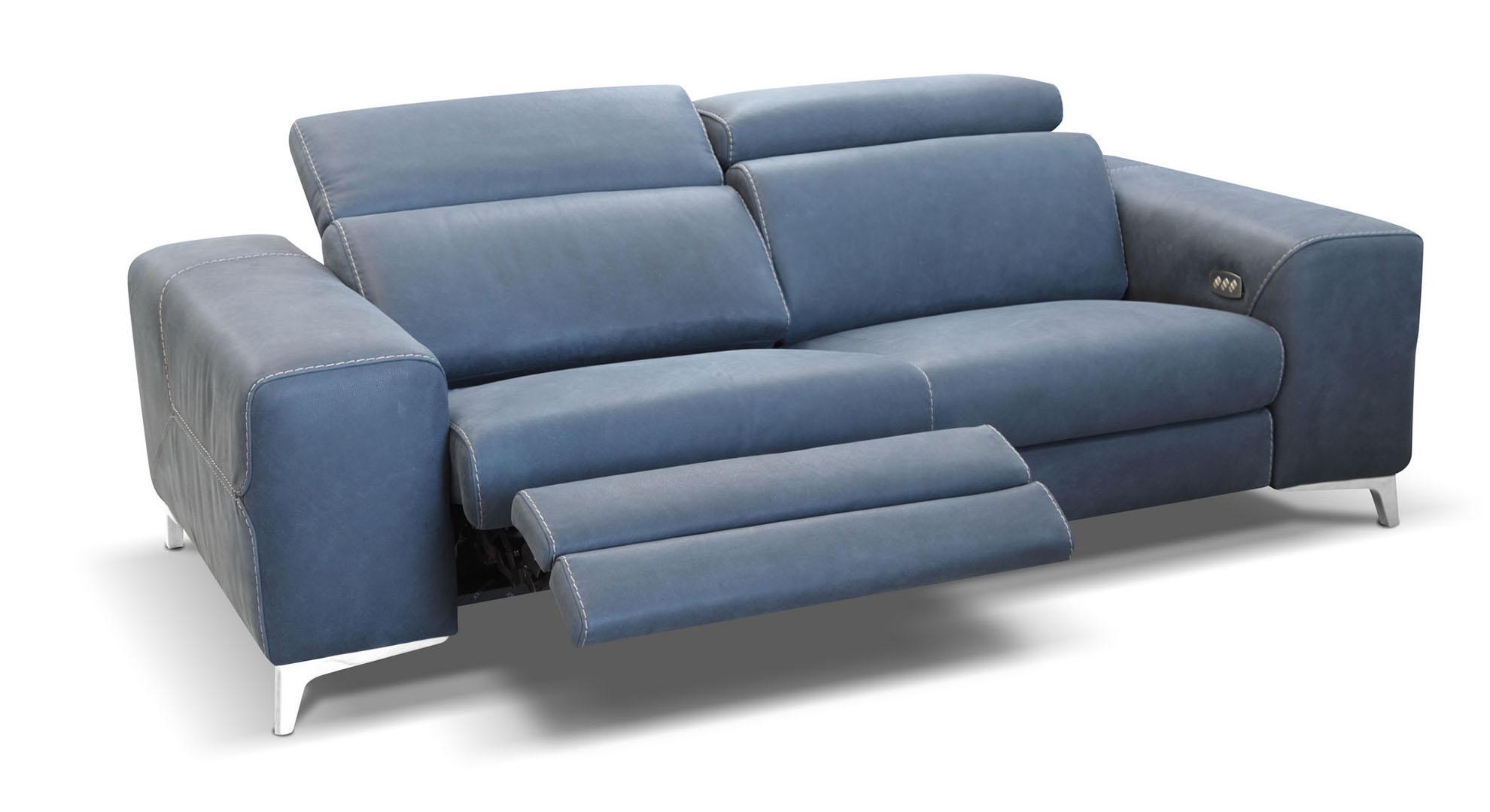 Power Motion Sofas Sectionals Braccisofas Com ~ Motorized Reclining Sofa